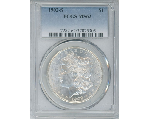 PMJ Coins & Collectibles, Inc. 1902 S $1 PCGS MS62