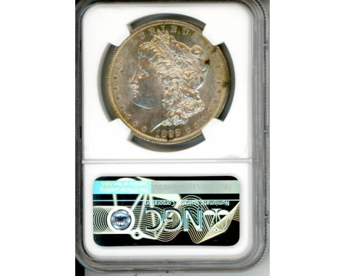 PMJ Coins 1898 S $1 NGC MS61 (TONED)