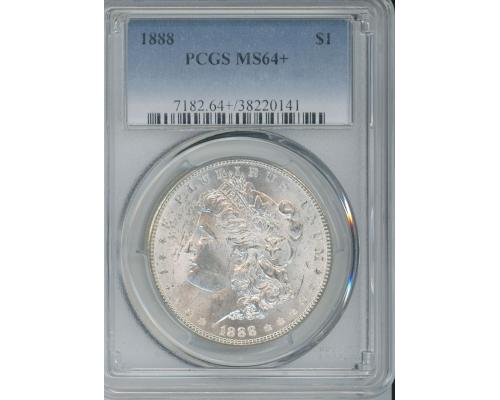 PMJ Coins & Collectibles, Inc. 1888 P $1 PCGS MS64+