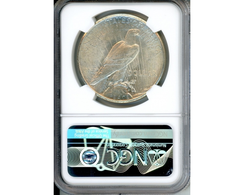 PMJ Coins 1924 S $1 NGC MS62