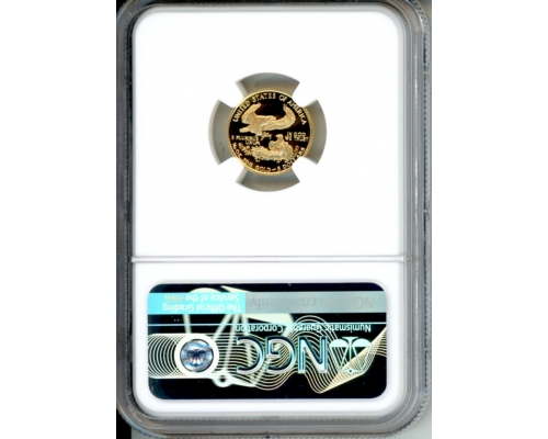 PMJ Coins 1991 P $5 NGC PF70UCAM