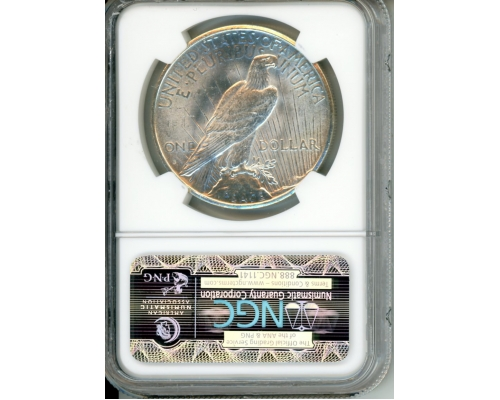 PMJ Coins 1925 S $1 NGC MS63 LUCIANI COLLECTION