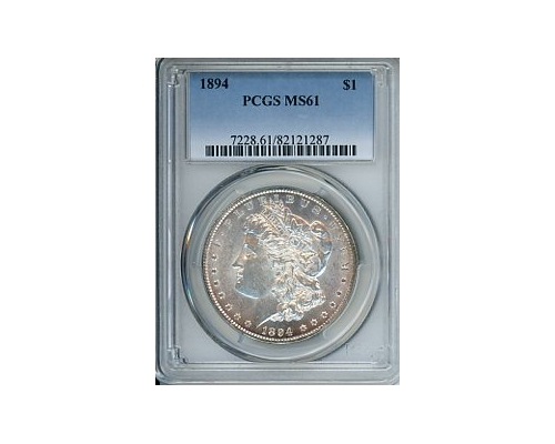 PMJ Coins & Collectibles, Inc. 1894 $1 NGC MS61