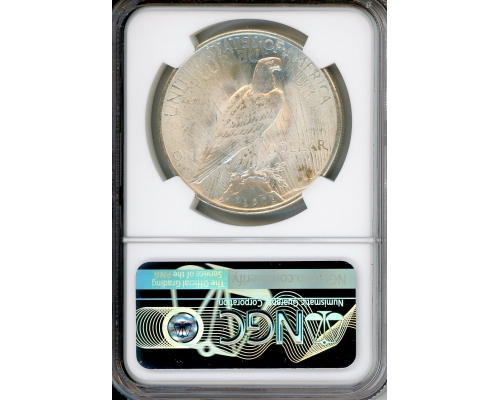 PMJ Coins 1925 $1 NGC MS66