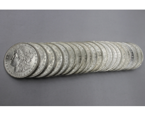 PMJ Coins 1885 P Morgan Dollar Roll