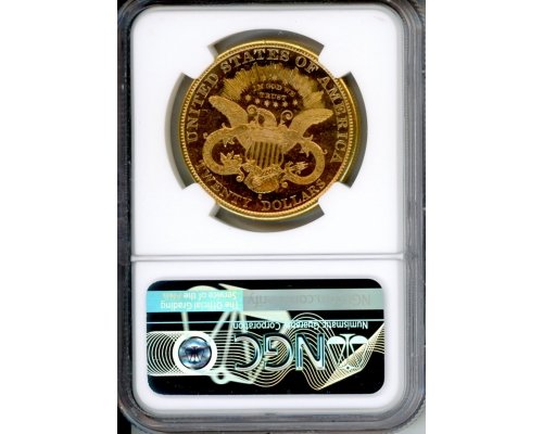 PMJ Coins 1897 S $20 NGC MS63PL