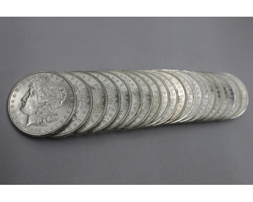 PMJ Coins 1889 P Morgan Dollar Roll