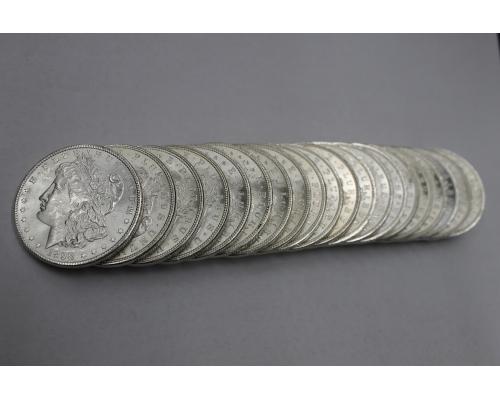 PMJ Coins 1898 O Morgan Dollar Roll