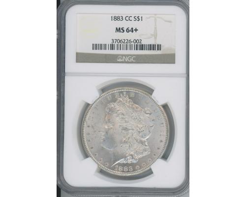 PMJ Coins 1883 CC $1 NGC MS64+