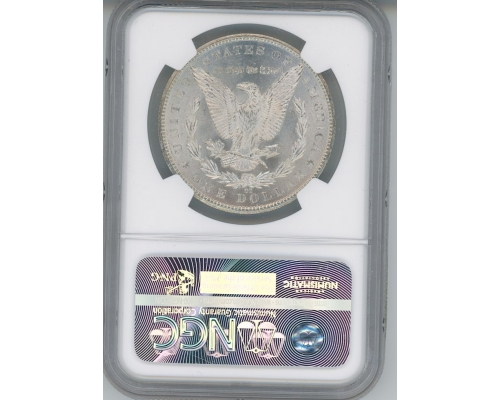 PMJ Coins 1884 CC $1 NGC MS63