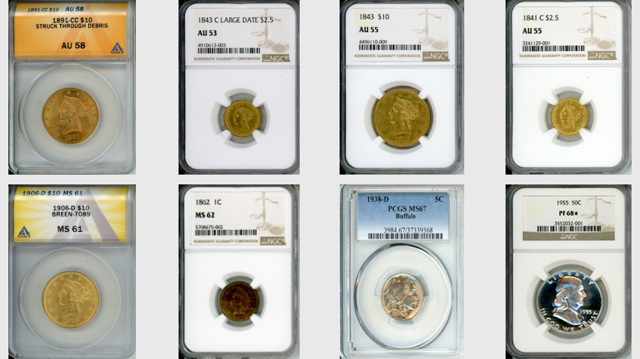 PMJ Coins BROWSE OUR LATEST INVENTORY