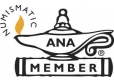American Numismatic Association - Logo PMJ Coins & Collectibles, Inc.