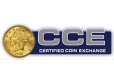 Certified Coin Exchange - Logo PMJ Coins & Collectibles, Inc.