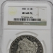 1881 O $1 MORGAN NGC MS60PL